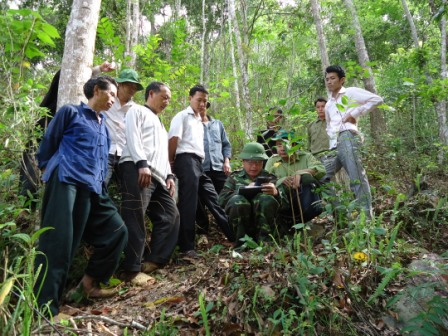 Inconsistencies in forestland mapping in upland indigenous ethnic minority communities in Vietnam