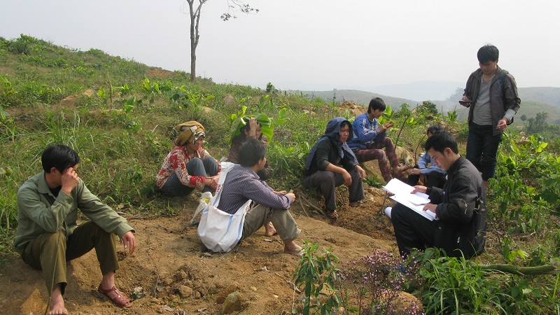 Advocacy for forest land rights of Thai ethnic people in  Hanh Dich commune