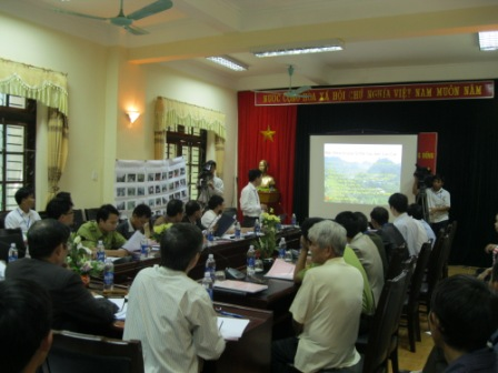 Hội thảo chia sẻ kết quả GĐGR dựa vào cộng đồng tại Si Ma Cai