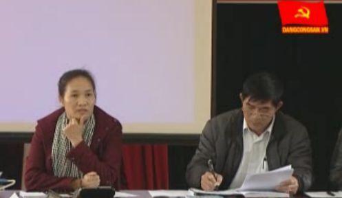 ĐCSVN - Giao đất giao rừng dựa vào cộng đồng tại xã Đồng Thắng, huyện Đình Lập