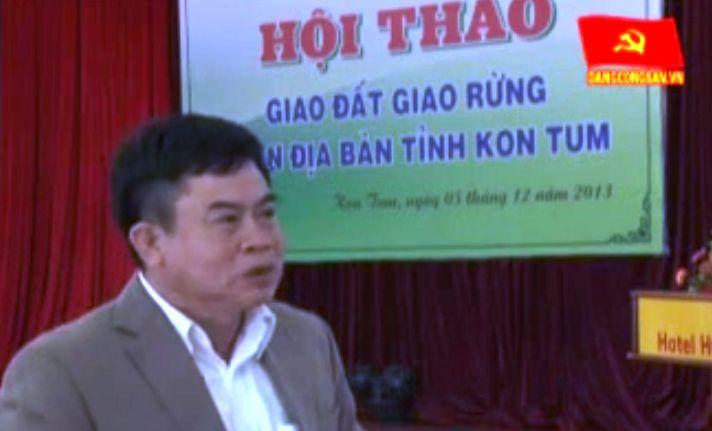 Đột phá khâu giao đất giao rừng dựa vào cộng đồng tại Kon Tum